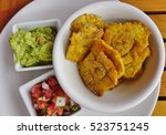 Fried Plantain Tostones ...