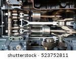 engine speed boat  engine of... | Shutterstock . vector #523752811