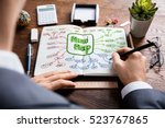 mindmap tag cloud | Shutterstock . vector #523767865