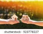 loans for real estate concept ... | Shutterstock . vector #523778227
