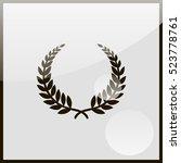 laurel wreath icon. | Shutterstock .eps vector #523778761