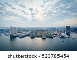 aerial view of federal hill and ... | Shutterstock . vector #523785454