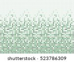 random dots background ... | Shutterstock .eps vector #523786309