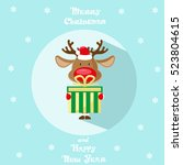 holiday symbol. icon colorful... | Shutterstock .eps vector #523804615