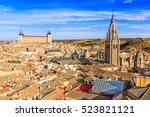 Toledo  Spain. Panoramic View...