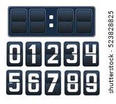 vector illustration of a... | Shutterstock .eps vector #523828825