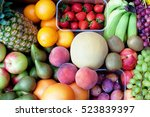 Colourful Image Of Mixed Fresh...