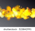 vector abstract bokeh... | Shutterstock .eps vector #523842991