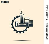 industrial icon | Shutterstock .eps vector #523857661