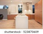 amazing new contemporary wooden ... | Shutterstock . vector #523870609