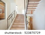 Modern Staircase With Stainles...