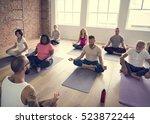 exercise international group... | Shutterstock . vector #523872244