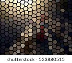 multicolor earth tone color... | Shutterstock . vector #523880515