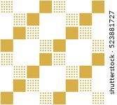 seamless pattern with squares.... | Shutterstock .eps vector #523881727