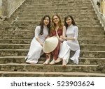 hanoi  vietnam   april 4  three ... | Shutterstock . vector #523903624