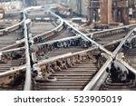 Railway Tracks In The Subway...