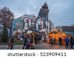 christmas market in germany | Shutterstock . vector #523909411