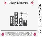 construction site  building a... | Shutterstock .eps vector #523915009