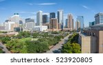panoramic aerial day view of... | Shutterstock . vector #523920805