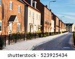 new english estate | Shutterstock . vector #523925434
