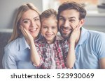 portrait of beautiful young... | Shutterstock . vector #523930069