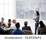 business development innovation ...   Shutterstock . vector #523935691