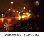 vector christmas background...   Shutterstock .eps vector #523939459