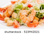 Seafood Caesar Salad With...