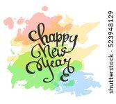 vector illustration lettering...   Shutterstock .eps vector #523948129