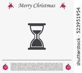 hour glass vector icon   Shutterstock .eps vector #523951954