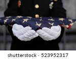 military personnel holding a... | Shutterstock . vector #523952317