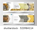 set of business templates for... | Shutterstock .eps vector #523984114