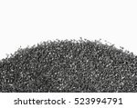 carbon charcoal  texture on... | Shutterstock . vector #523994791