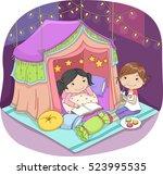 Illustration Of Cute Little...
