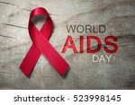 Small photo of Red ribbon - World AIDS Day