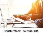 business people at work | Shutterstock . vector #524000185