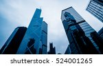 low angle view of skyscrapers... | Shutterstock . vector #524001265