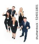 successful business people... | Shutterstock . vector #524011801