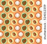 sport lover   sport equipment... | Shutterstock .eps vector #524012359