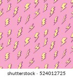 abstract thunder background | Shutterstock . vector #524012725