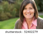 close up portrait of smiling... | Shutterstock . vector #52402279