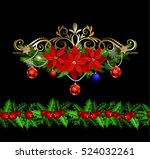 christmas elements for your... | Shutterstock .eps vector #524032261