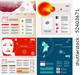 set of websites design... | Shutterstock .eps vector #52403671