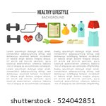 healthy lifestyle. vector