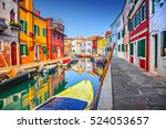 Colorful Houses In Burano ...