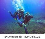 Underwater Scuba Diving Selfie...