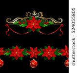 christmas elements for your... | Shutterstock .eps vector #524055805