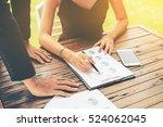 business group meeting....   Shutterstock . vector #524062045