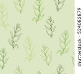 Tarragon Herb Graphic Green...
