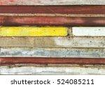 wall | Shutterstock . vector #524085211